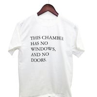 "Haunted Mansion Tshirt - ""This chamber has no windows, and no doors."" Disney Ride Tee"
