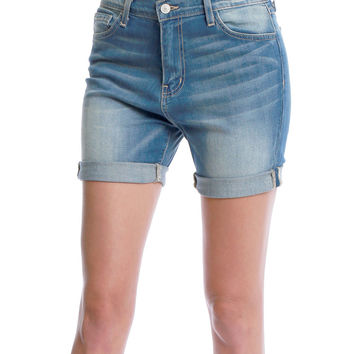 Stay Real Denim Shorts