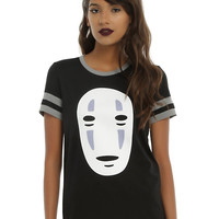 Her Universe Studio Ghibli Spirited Away No-Face Girls Athletic T-Shirt