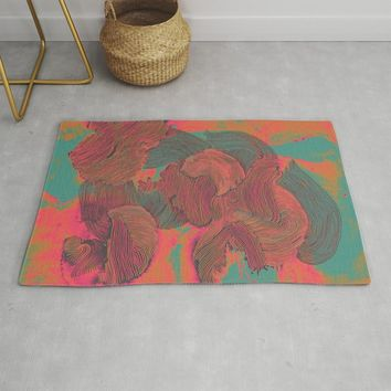 Mind Trip Rug by duckyb