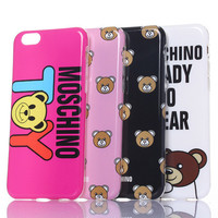 Bear Printed Hardcase For Iphone