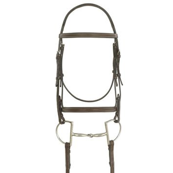 Ovation Elite Collection Ultra Raised Comfort Crown Padded Bridle