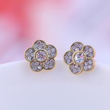 Accessory Floral Earring Jewelry [6573073223]