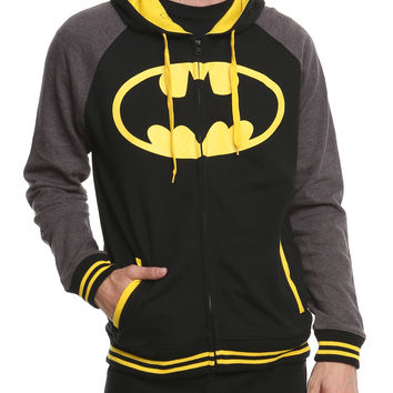 DC Comics Batman Raglan Hoodie | Hot Topic