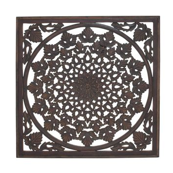 Charkhi Dadri Arty And Unique Wood Mirror Wall Panel