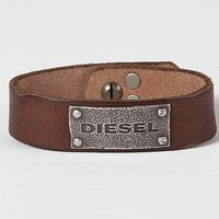 Diesel Leather Cuff Bracelet