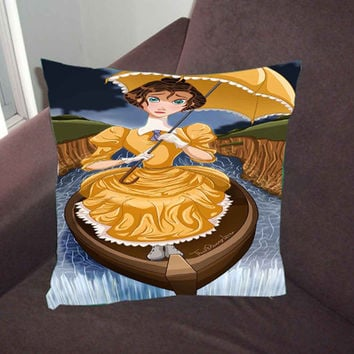 disney princess haunted 70ee0884-ca65-4471-931b-7d8c3646ae45 - Pillow Case, Pillow Cover, Custom Pillow Case *02*