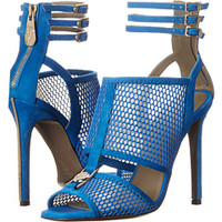 Versace Collection Perforated Strappy Sandal