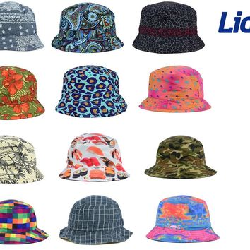 LIDS Reversible Printed Bucket Hat - MANY STYLES - ALL SIZES