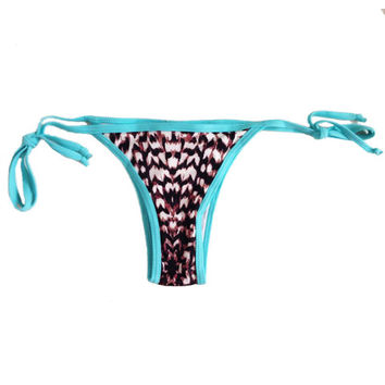 CONTIKI - Tie Up Brazilian Bikini Bottoms