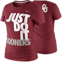 Nike Oklahoma Sooners Women's DNA T-Shirt - Crimson
