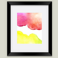 Watercolor Framed Art Print by ameecheriepiek on BoomBoomPrints