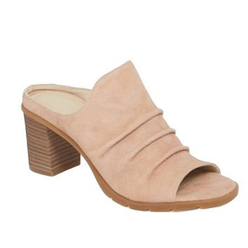 Aim To Pleat Mule - Aurora