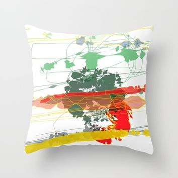 t_9 Throw Pillow by Kristina Kerstner