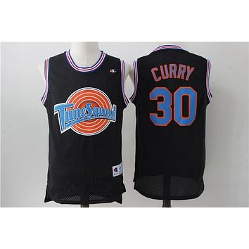 Online Space Jam Movie Jersey # 30 Stephen Curry Black