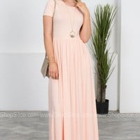 Timeless Soft Maxi Dress | Peach