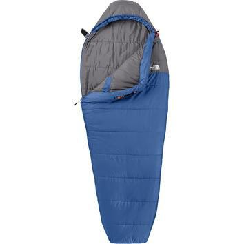 The North Face Aleutian Sleeping Bag: 20 Degree Synthetic Striker Blue/Zinc Grey,