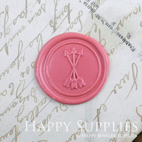 1pcs Arrowe Gold Plated Wax Seal Stamp (WS336)