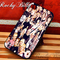 R5 American Band Collage for iPhone 4/4s/5/5s/5c - iPod 2/4/5 - Samsung Galaxy s2/s3/s4/s5 - Black/White