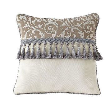 DCCKX8J Estate by Croscill Alexandria 16  x 16  Fashion Throw Pillow