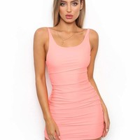 Buy Our Bondi Dress in Coral Online Today! - Tiger Mist