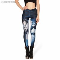 Jack & Sally Nightmare Before Christmas Leggings- Free Shipping