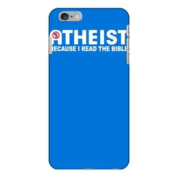 atheist bible lies god sinner agnostic humanist athiest iPhone 6/6s Plus Case