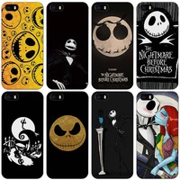 Jack Skellington The Nightmare Before Christmas Black Plastic Case Cover Shell for iPhone Apple 4 4s 5 5s SE 5c 6 6s 7 Plus