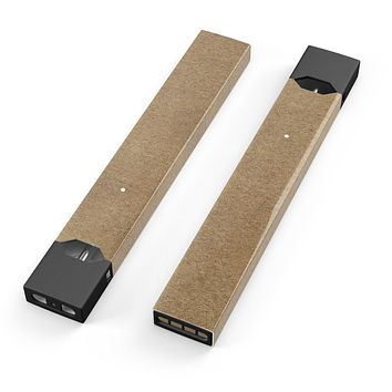 Skin Decal Kit for the Pax JUUL - Brown Cork Surface