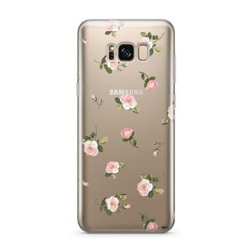Blush - Clear Case Cover for Samsung