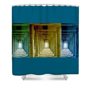 Triple Perspective Shower Curtain for Sale by Ben and Raisa Gertsberg