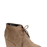 Women's TOMS 'Desert' Wedge Bootie,