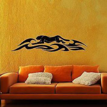 Wall Sticker Vinyl Decal Puma Predator Tribal Animal Tattoos Unique Gift (ig1174)