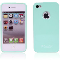 Alice Pastel iPhone 4 / 4S Case (LOGO Hole) - Turquoise *Special Offer