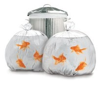 Suck UK Goldfish Happy Sack Bin Bags