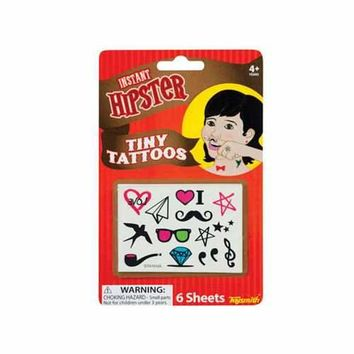 Hipster Tiny Temporary Finger Tattoos ( Case of 72 )