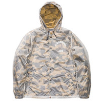 BAPE 1ST CAMO TRANSLUCENT COACH JACKET | Undefeated