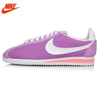 Official Nike Breathable CLASSIC CORTEZ BR women's Skateboarding Shoes sneakers