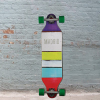 Paintstripes Weezer 36 inches Madrid Top Mount Longboard