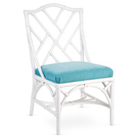 Chippendale Rattan Side Chair, Caribbean, Side Chairs