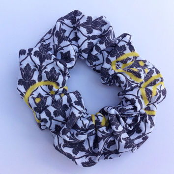 Sherlock Inspired 221B Wallpaper Hair Scrunchie