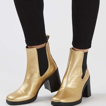 BARNABY Heeled Boot | Topshop