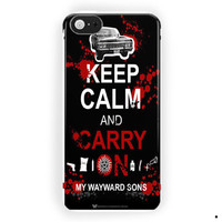 Keep Calm An Carry On Supernatural For iPhone 5 / 5S / 5C Case