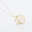 Square ball necklace