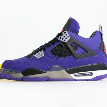 DCCK - Travis Scott x Air Jordan 4 'PURPLE' 308497-406