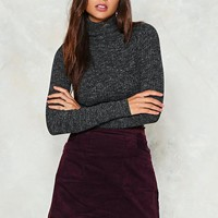 Thin Ice Turtleneck Sweater