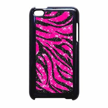 Zebra Stripes 2 Bluxco iPod Touch 4 Case