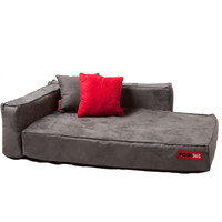 Suede Dog Couch Sofa