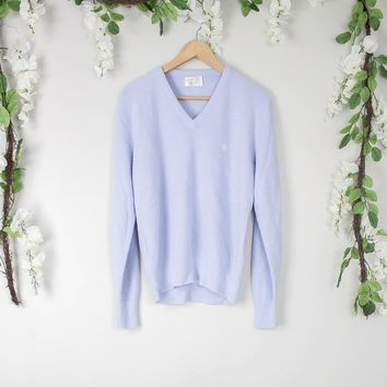 Vintage Christian Dior Blue Sweater