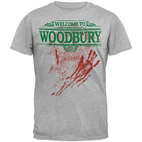 Walking Dead - Welcome To Woodbury Soft T-Shirt